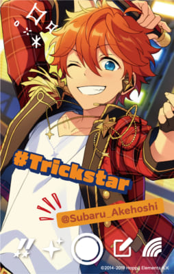 「あんさんぶるスターズ!!×snap.me」 Trickstar:明星スバル