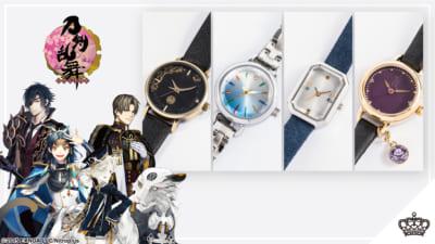 「刀剣乱舞-ONLINE-」コラボレーション腕時計(全4種)メイン