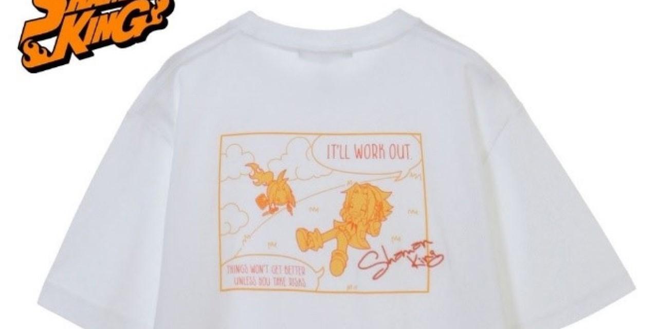 「シャーマンキング」職人による手作業の刺繍が光る!普段使いしやすいTシャツ6種が登場!