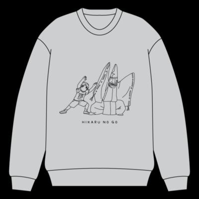 「ヒカルの碁」ポップアップショップ スウェット:5,500円(税込)