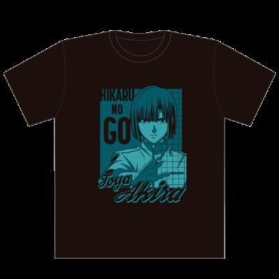 「ヒカルの碁」ポップアップショップ Tシャツ:各3,300円(税込) 塔矢アキラ