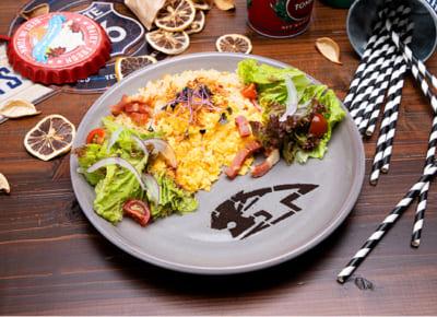 「TIGER & BUNNY Cafe PLAYBACK!!」 【ワイルドタイガー】 サラダチャーハン