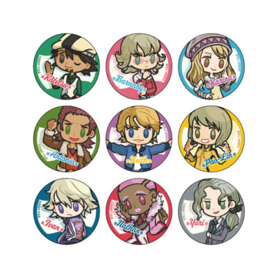 「TIGER & BUNNY Cafe PLAYBACK!!」 缶バッジ