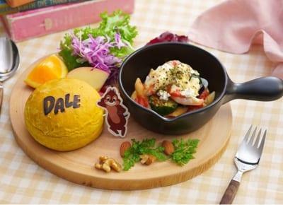 「チップ&デール」OH MY CAFE <デール>トマトグラタンプレート