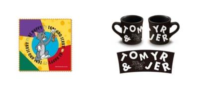 「トムとジェリー」カフェ  タオルハンカチ、マグカップ