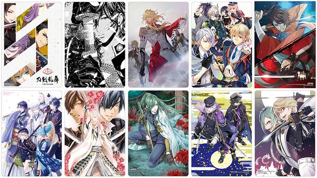 「刀剣乱舞」公式アンソロ35冊記念フェア「 画札集めの段」アニメイトで10月開催!