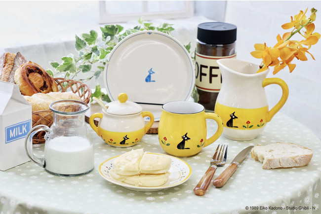 「魔女の宅急便 おソノさんの食器シリーズ」あのシーンがモチーフの食器で食卓を彩ろう!