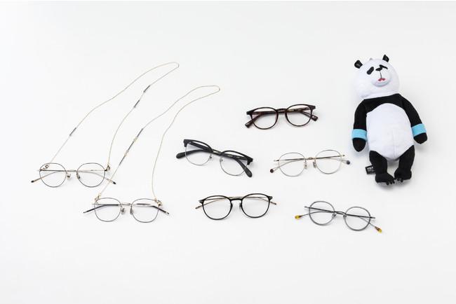 受注販売「呪術廻戦×JINS」全7種のコラボメガネ!パンダのぬいぐるみ型メガネケースが可愛い