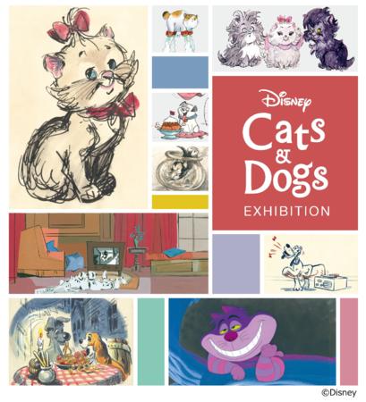 印象深い犬猫キャラを紹介「ディズニー キャッツ&ドッグス展」貴重なアートを300点以上展示!