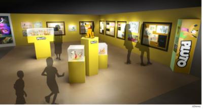 「ディズニー キャッツ&ドッグス展」展示イメージ