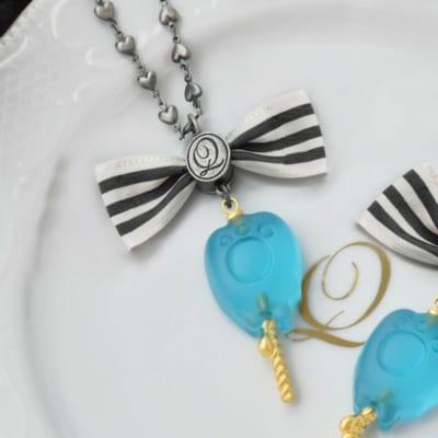 Disney Twisted-Wonderland Collection 「グリム」グミキャンディ ネックレス