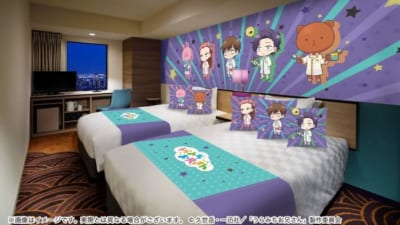 TVアニメ「うらみちお兄さん」×「サンシャインシティプリンスホテル」裏をイメージしたコラボルーム