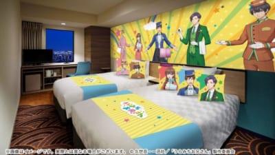 TVアニメ「うらみちお兄さん」×「サンシャインシティプリンスホテル」表をイメージしたコラボルーム