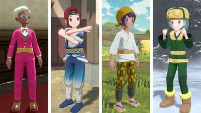 「Pokémon LEGENDS アルセウス」呉服屋&散髪屋でキャラクリ
