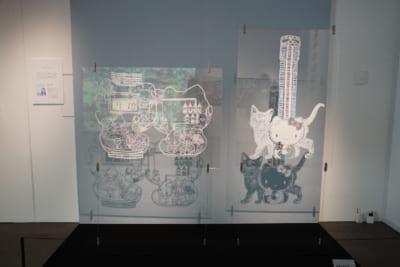 「サンリオ展」ZONE5 福井利佐さんの作品