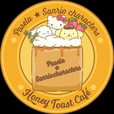 サンリオキャラクターズハニトーカフェ」ロゴ
