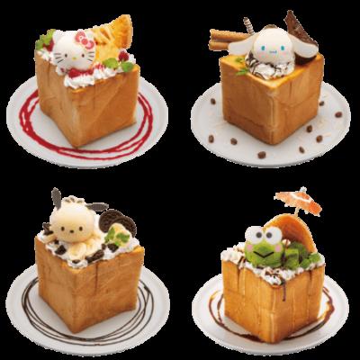 「サンリオキャラクターズハニトーカフェ」メニュー写真2