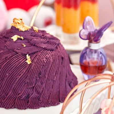 スイーツコレクション ~ハローキティ・マイメロディ&クロミのコスメパーティ~ クロミお気に入りの紫芋のモンブラン