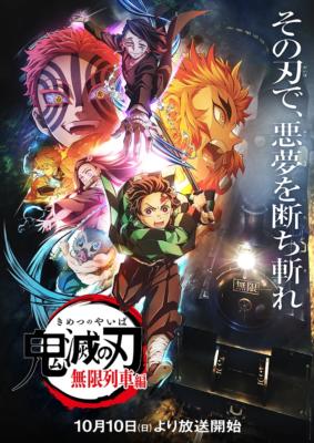 TVアニメ「鬼滅の刃」無限列車編 キービジュアル