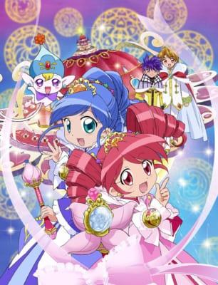 TVアニメ「ふしぎ星の☆ふたご姫」キービジュアル