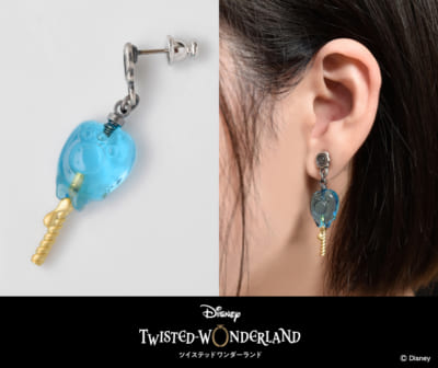 Disney Twisted-Wonderland Collection 「グリム」ロリポップキャンディ ピアス,イヤリング