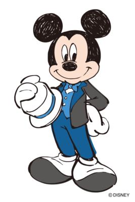 「ディズニー×Zoff」コラボメガネ おめかししたミッキーマウス
