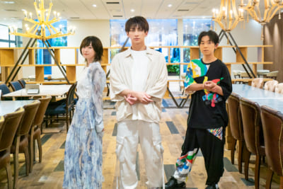 TVアニメ「ブルーピリオド」峯田大夢さん・花守ゆみりさん・山下大輝さん