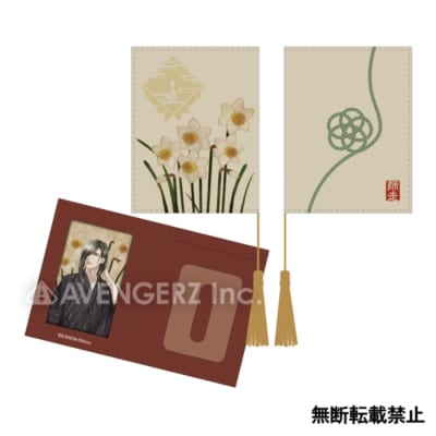 刀剣乱舞-ONLINE- 華こよみ絵巻 パスケースにっかり青江