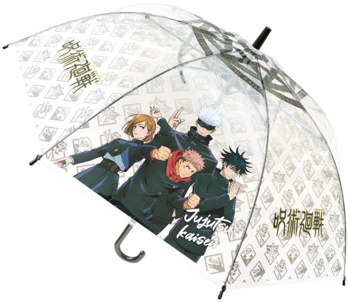 「呪術廻戦」クリアデザイン&折り畳み傘が発売!悠仁ら4人と雨の日を乗り切ろう!