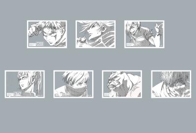 『呪術廻戦』アクリルキーホルダーコレクション(全7種)