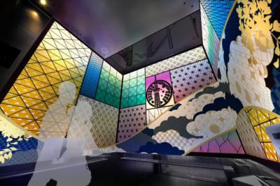 「鬼滅の刃×東京スカイツリー」天望回廊での展示装飾〈壱〉 天望シャトル