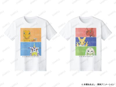 「デジモン STORE in ロフト」Ani-Art Tシャツ(全2種)