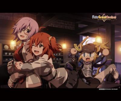 OVA「Fate/Grand Carnival」2nd Season店舗別特典●げっちゅ屋連動購入特典:B2タペストリー