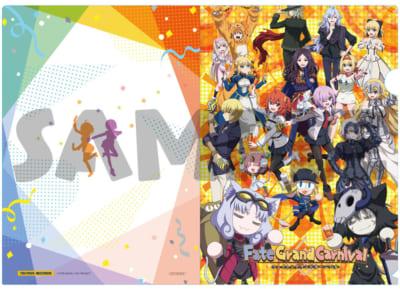 OVA「Fate/Grand Carnival」2nd Season店舗別特典●TSUTAYA RECORDS・TSUTAYAオンライン連動購入特典:A4クリアファイル
