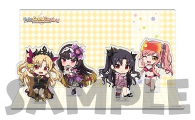 OVA「Fate/Grand Carnival」2nd Season店舗別特典●楽天ブックス連動購入特典:A4サイズアクリルジオラマスタンド(イシュタル、エレシュキガル、刑部姫、女王メイヴ)