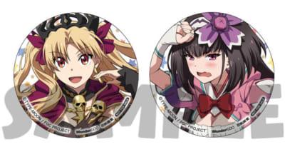 OVA「Fate/Grand Carnival」2nd Season店舗別特典:WonderGOO/新星堂各巻購入特典:缶バッジ2個セット(エレシュキガル、刑部姫)