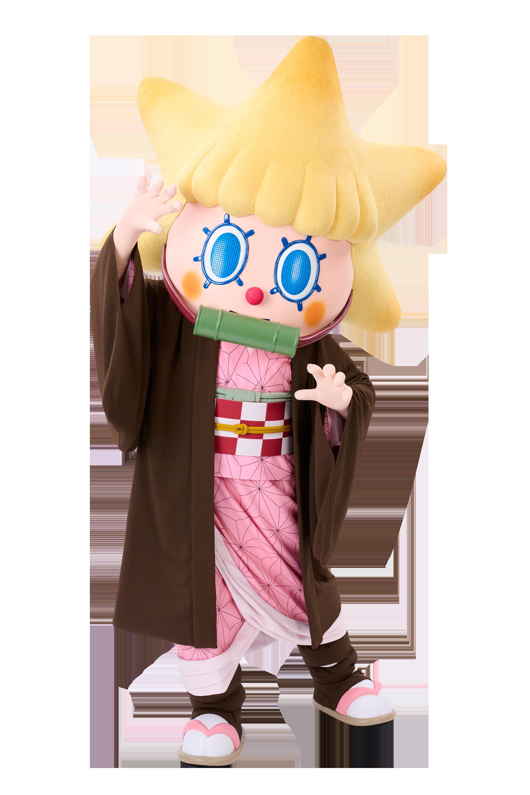 「鬼滅の刃×東京スカイツリー」限定コスチュームを着たソラカラちゃん