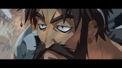 OVA「Fate/Grand Carnival」2nd Season PV場面カット:エドワード・ティーチ