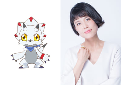 TVアニメ「デジモンゴーストゲーム」ガンマモン:沢城みゆきさん