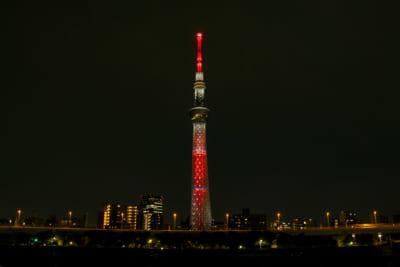 「鬼滅の刃」 天空への願い TOKYO SKYTREE(R) 特別ライティング