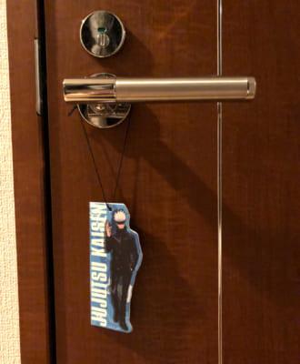 TVアニメ「呪術廻戦」エアーフレッシュナー ドアに吊り下げられた五条先生