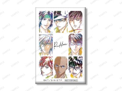 『新テニスの王子様』集合 立海 Ani-Art 第2弾 スクエア缶バッジ アニメイト限定特典
