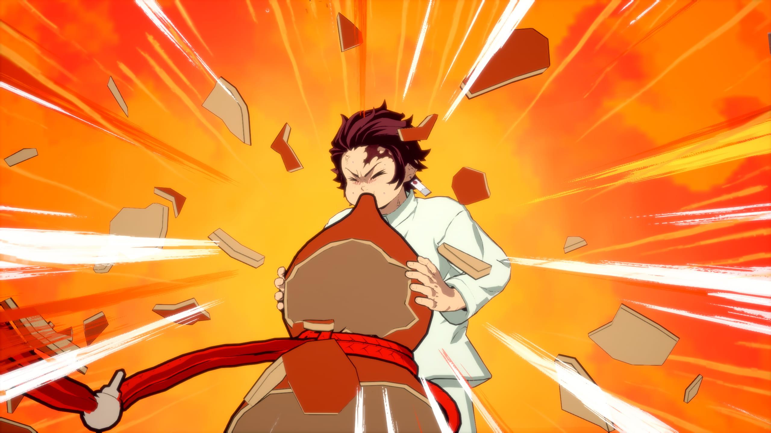 ゲーム内スクリーンショット -ソロプレイモード「蝶屋敷」-炭治郎