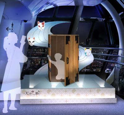 「鬼滅の刃×東京スカイツリー」天望回廊での展示装飾〈肆〉 折り返しエリア①