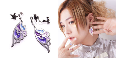 「ANNA SUI×蒼井翔太Feather Ear Accessories(フェザーイヤーアクセサリーズ)」商品画像