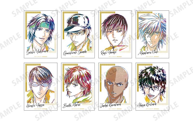 『新テニスの王子様』 立海 Ani-Art 先行販売特典ブロマイド