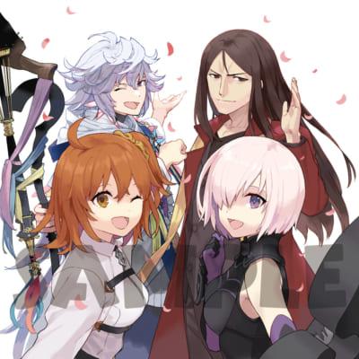 OVA「Fate/Grand Carnival」2nd Season店舗別共通特典:連動購入特典武梨えり描き下ろしクッションカバー(うら)
