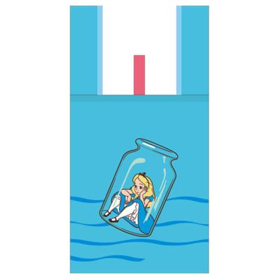 「アリス・イン・ワンダーランド」デイドリーム ファンタジーマーケット軽量で通気性抜群のデザインバッグ
