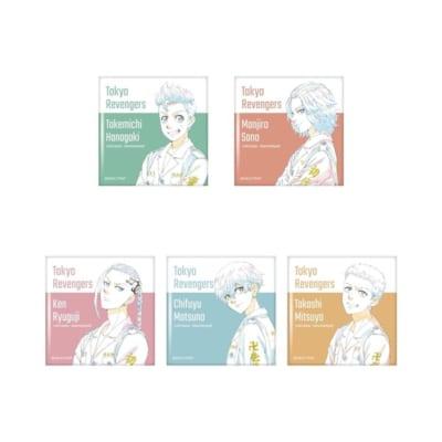 「東京リベンジャーズ」セブンネット限定グッズ スクエア缶バッジ