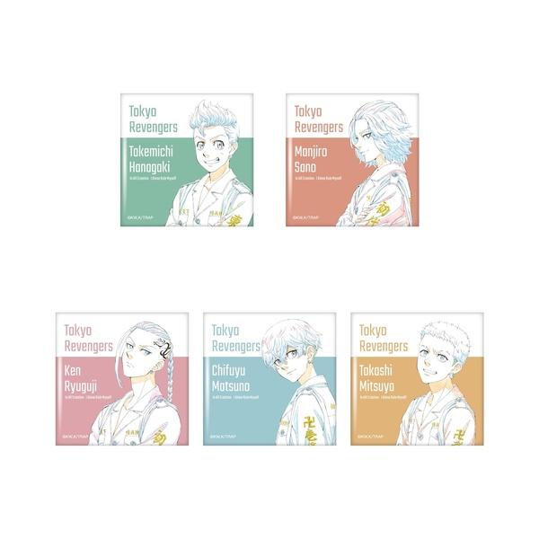 「東京リベンジャーズ」セブンネット限定グッズスクエア缶バッジ